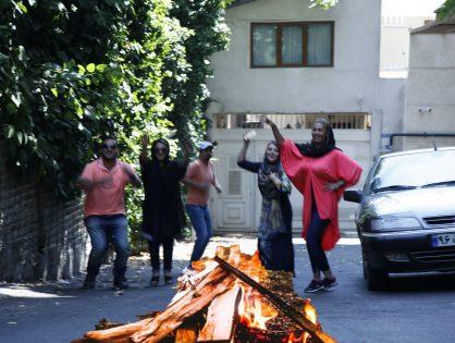 Why do Persians celebrate Chaharshanbe Suri?